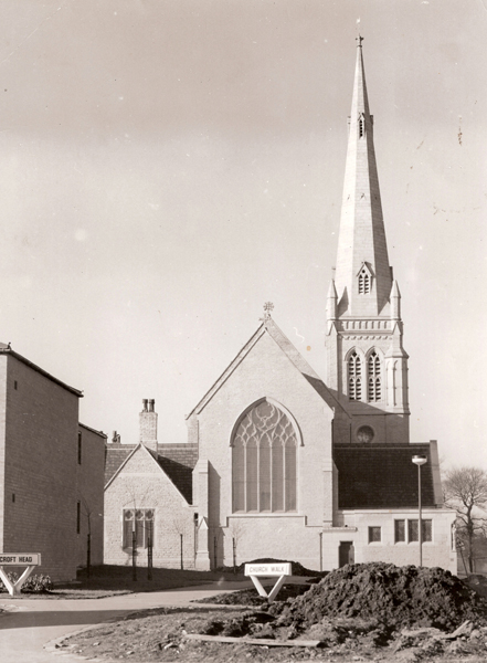 Church 1972 from the east